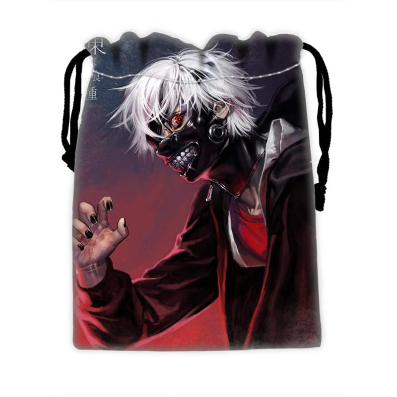 Custom Tokyo Ghoul Drawstring Bags For Mobile Phone Ablet PCjewelry Gift Packaging Bags Christmas Gift Bags SQ0709-KJH23