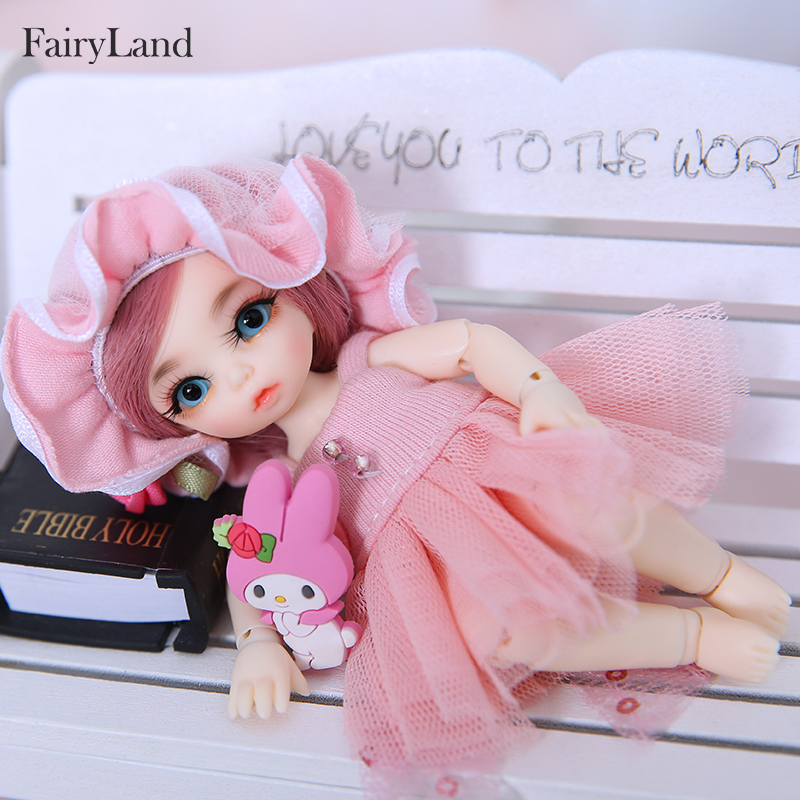 Fairyland Pukipuki Ante bjd sd docka 1/12 kroppsmodell tjejer killar ögon Högkvalitativ leksaker butik harts Inkluderade ögon