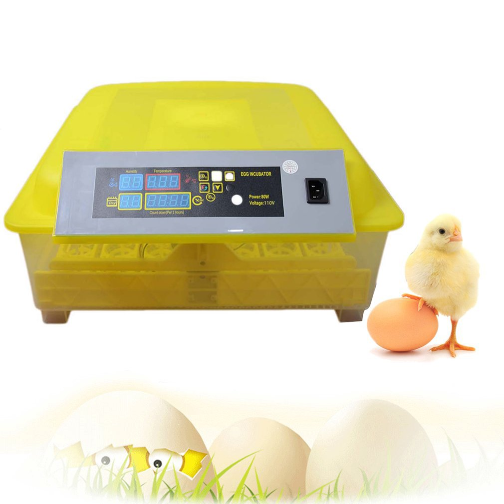 48 Hole Automatic Egg Turning Incubator Digital Incubator Temperature Control For Chicken Poultry Hatcher Ducks Goose Birds