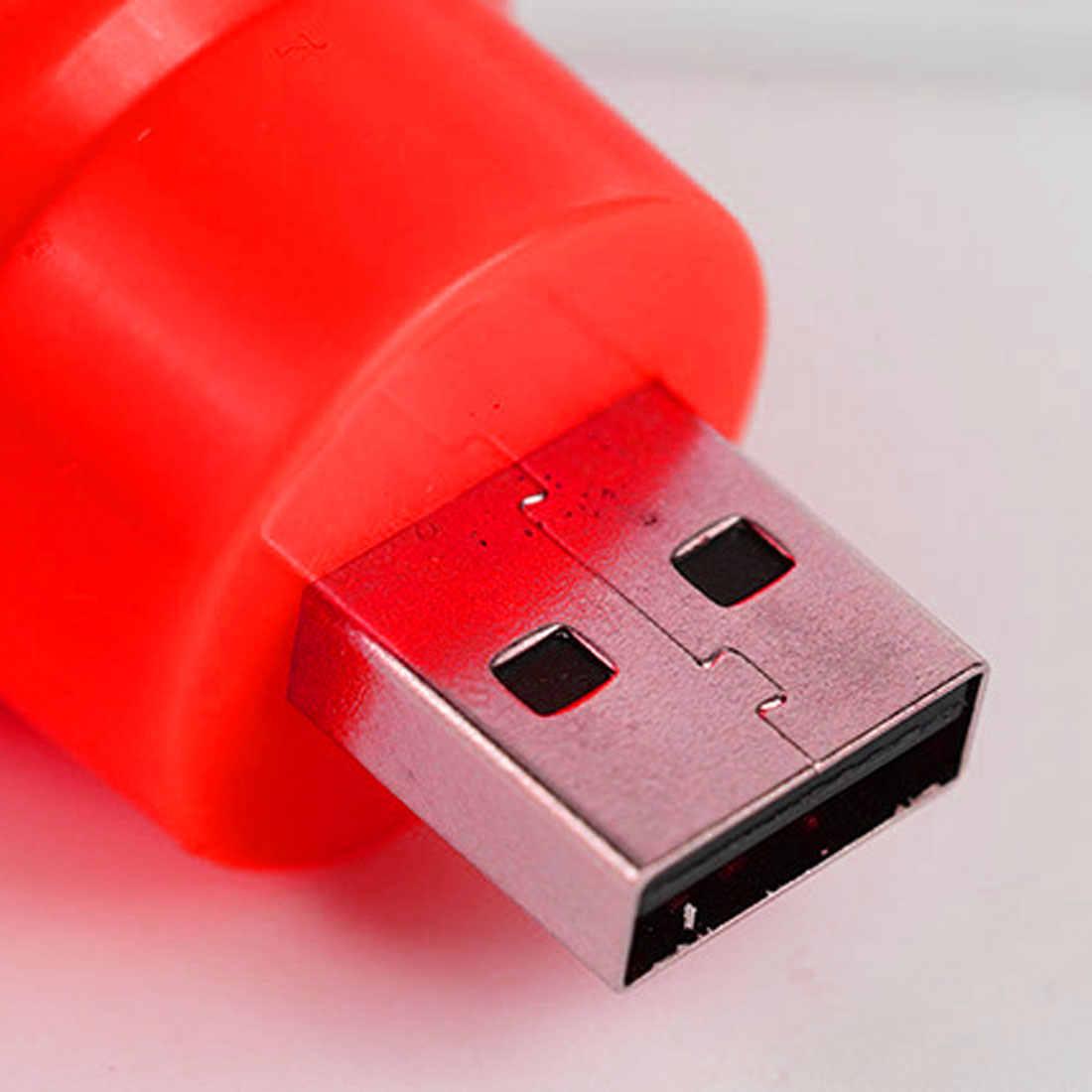 Мини светодиодная лампа USB Круглый Открытый фонарик ночное аварийное освещение лампа для ноутбука компьютер энергосберегающий свет для чтения лампа для кемпинга