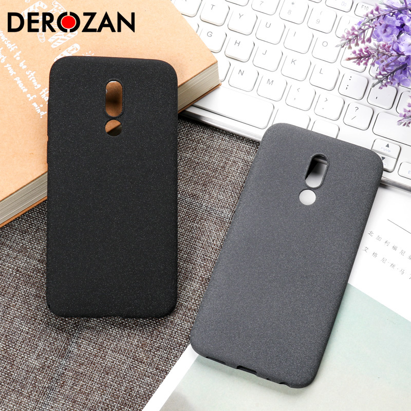 For Meizu X8 V8 Cases Simple Silicone Matte Scrub Soft TPU Phone Covers Protective Coque On the for Meizu Note 9 8 Case Bag
