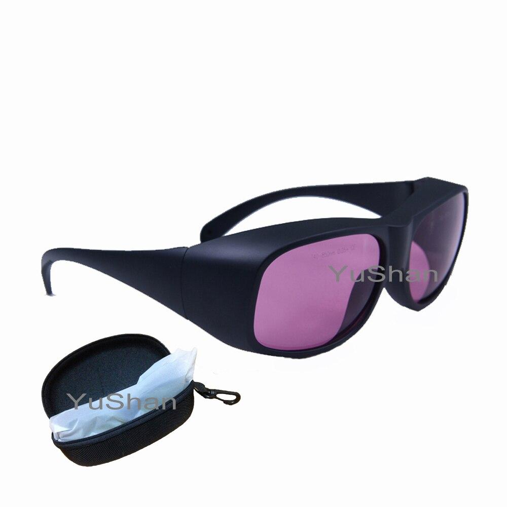 Gafas de seguridad láser ATD 740-850nm, alaxandrita y Diodo protección láser de múltiples longitudes de onda