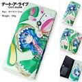Colorful Anime DATE A LIVE long style PU wallet printed w/ Tohka/Yoshino/Kurumi TYPE B