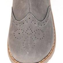Новинка! Детская обувь для девочек; обувь для женщин; chaussure fille sapato menina серый сапоги для осени sandq детский жесткий носок и каблук с нескользящей подошвой для пар