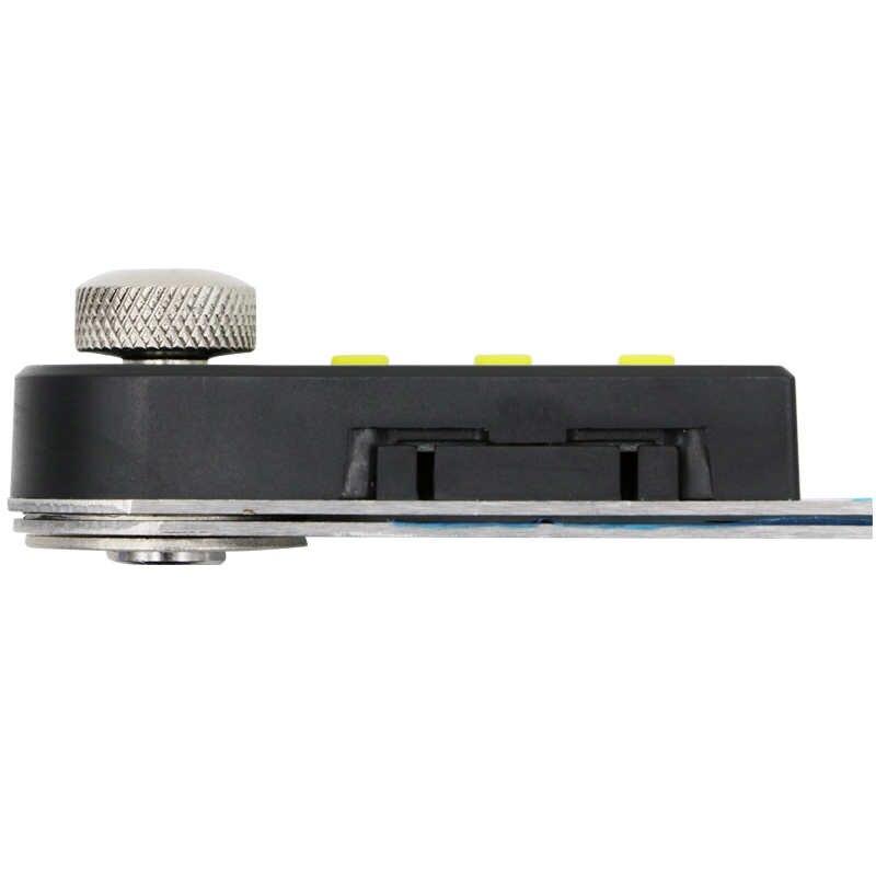 Transportador digital de acero inoxidable SHAHE 360 grados ángulo goniométrico medidor regla de ángulo digital goniómetro