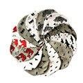 Casquillos del bebé del algodón de impresión sombreros para el bebé boy girl otoño invierno de los niños gorro de lana patrón batman oso pájaro fox peces