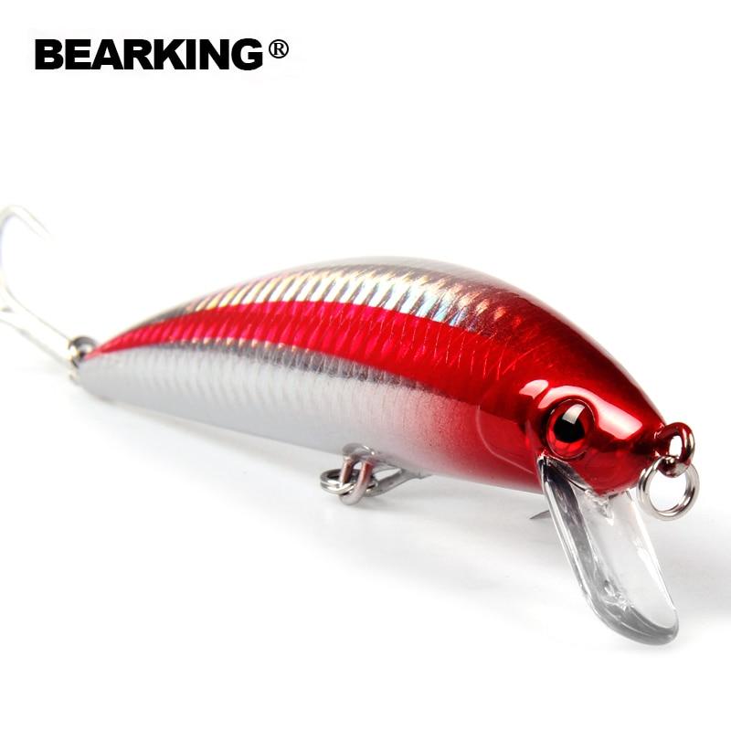 Bearking professional fishing lures 2016 Hot-selling  minnow 120mm/40g, super sinking crankbait pencil popper hardbait minnow