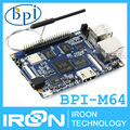 BPI-M64 Banana Pi M64 A64 64-Bit Quad-Core 2GB RAM BPI M64 with WiFi Bluetooth 8GB eMMC demo board Single Board Computer SBC