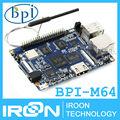 BPI-M64 Banana Pi M64 A64 64-Bit Quad-Core 2GB RAM BPI M64 with WiFi Bluetooth 8GB eMMC demo board Single Board Computer SBC