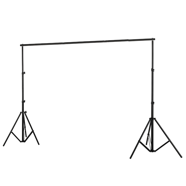 2 8m 3 2m Photographic Backdrops Background Support System stand holder cross bar Light Stand aluminum