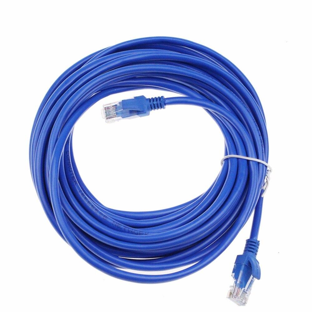 1 Mt 2 Mt 3 Mt 5 Mt 10 Mt 20 Mt Katze 5 Cat5e Flach Utp Ethernet Netzwerk Kabel Rj45 Patch Lan Kabel Für Computer Laptop Heller Glanz