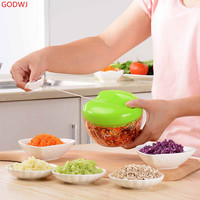 Manual Kitchen Multi function Vegetable Cutter Potato Carrot Onion Grater Slicer Vegetable Chopper Kitchen Tools Accessories