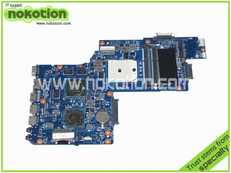 цены NOKOTION H000050830 Laptop Motherboard for Toshiba Satellite L850D DDR3 graphics Mainboard