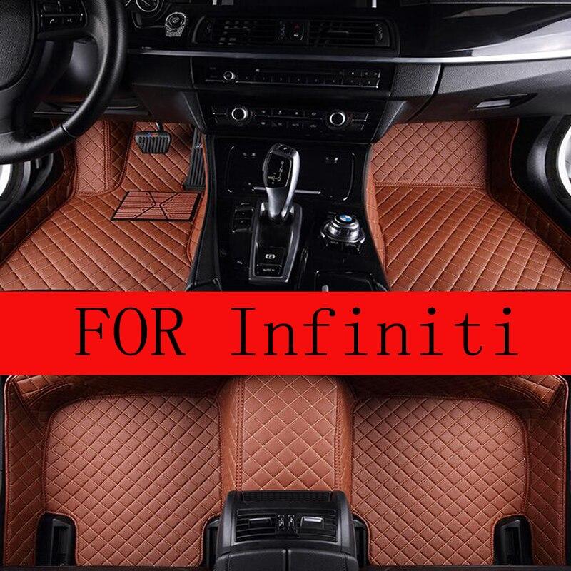 Автомобильные коврики для Infiniti G G25 G35 G25 G35 M25 M35 Q60 Q70 Q70 QX50 EX25 EX35 FX35 FX37 QX70 QX56 QX80 JX35 QX60 QX30 ковер