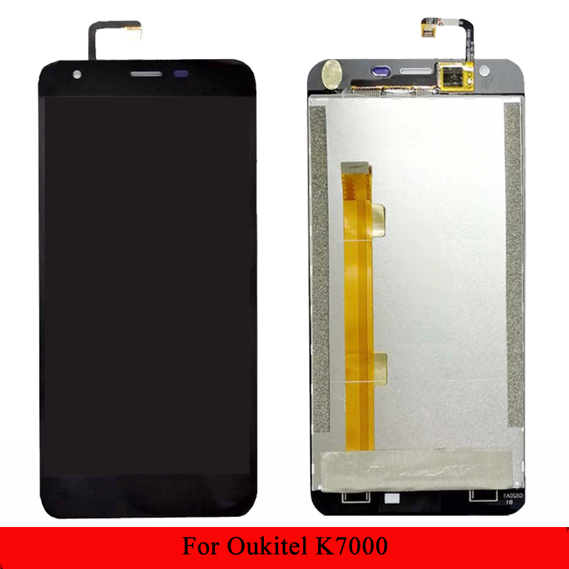 For <font><b>Oukitel</b></font> <font><b>K7000</b></font> LCD Display and Touch Screen Assembly image