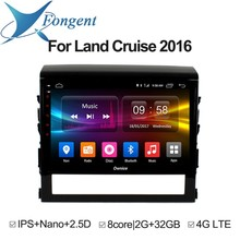 for Toyota land cruiser 200 LC200 2016 car dvd Multimedia player Vehicle gps Navigator Auto radio android Unit On Board Computer