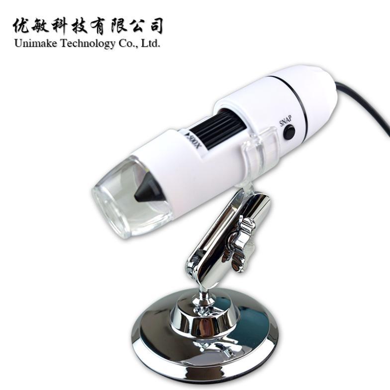 ФОТО 50- 500x white usb digital microscope electronic magnifier 200 1-hand-held endoscope