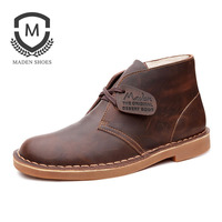 Maden Brand Winter New Warm Martin Boots Vintage Fashion Style High Quality Snow Boots Non Slip