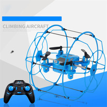 High Quqlity FY802 2.4GHz 4CH 6-Axis Mini Hybrid Car-Copter RC Quadcopter Gift For Children Toys Wholesale Free Shipping