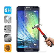 2.5D Tempered Glass For Samsung Galaxy S3 S4 S5 C5 C7 J1 J5 J7 Note 2 3 4 5 Grand Prime G850 G360 Screen Protector Glass Film(China)