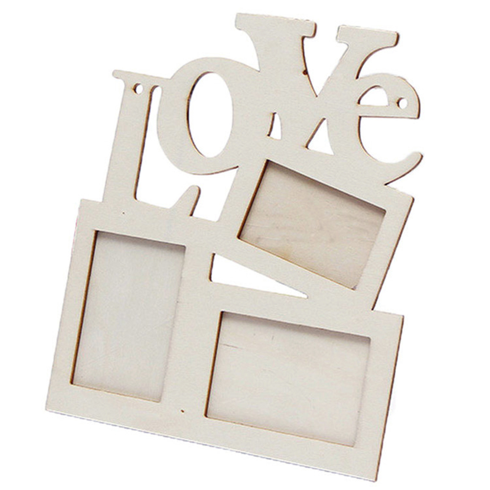 Love design wooden photo frame diy picture frames art home desk love design wooden photo frame diy picture frames art home desk decor with three windows picture frames ms094 in frame from home garden on aliexpress jeuxipadfo Gallery