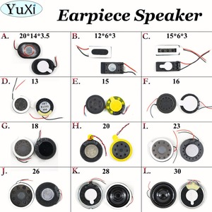 YuXi 1pcs Loud Speaker Buzzer Ringer For Cellphone Compatible Universal Used 30*5.5/28*5.5/26*5/23*4.5/20*3.5mm(China)