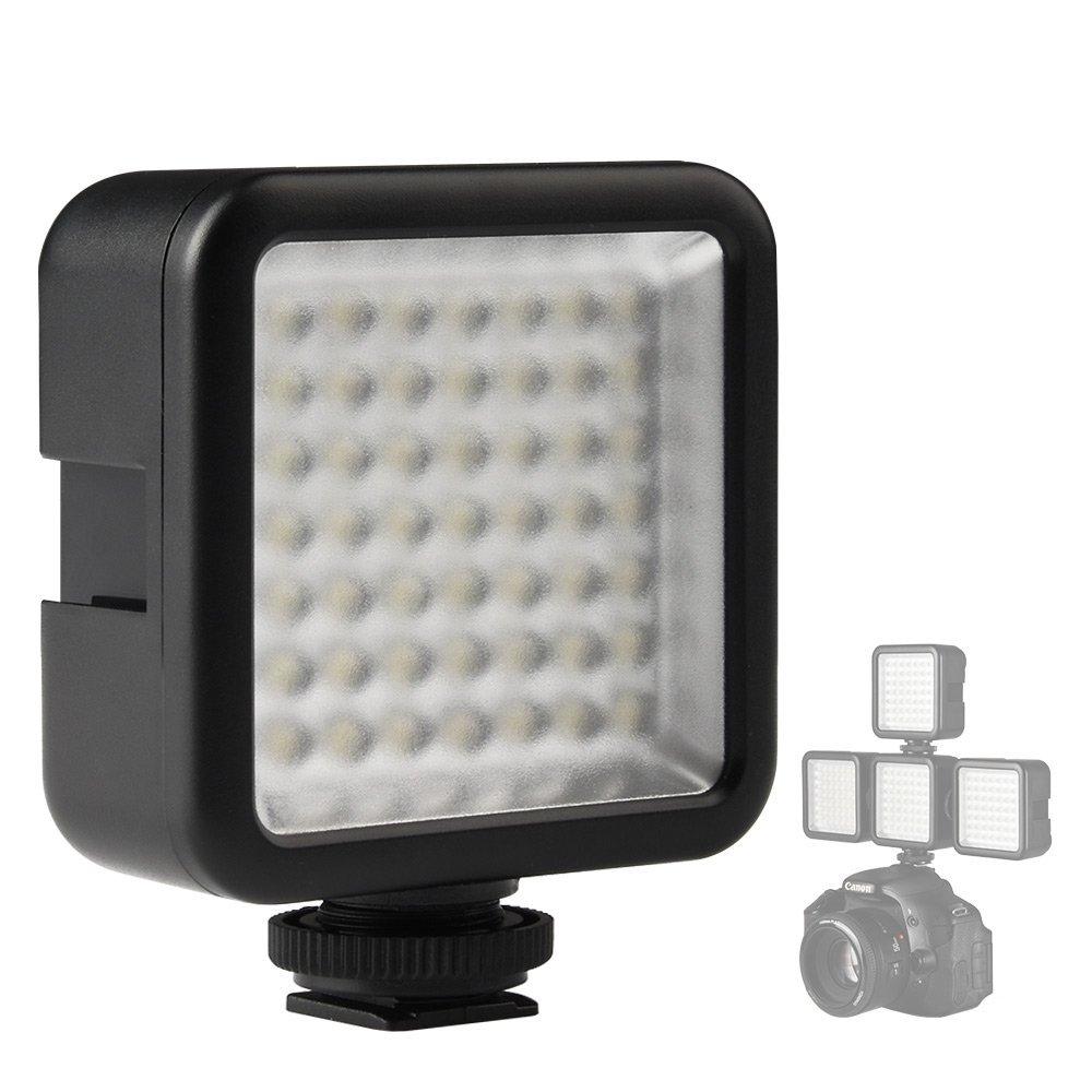 DSLR-A700 DSLR-A850 DSLR-A550 DSLR-A900 Cameras: LED Light Panel DSLR-A500 DSLR-A450 Powerful 36 LED Array Shoe Mount Adjustable LED Video Light for Sony Alpha DSLR-A390 DSLR-A580 DSLR-A560