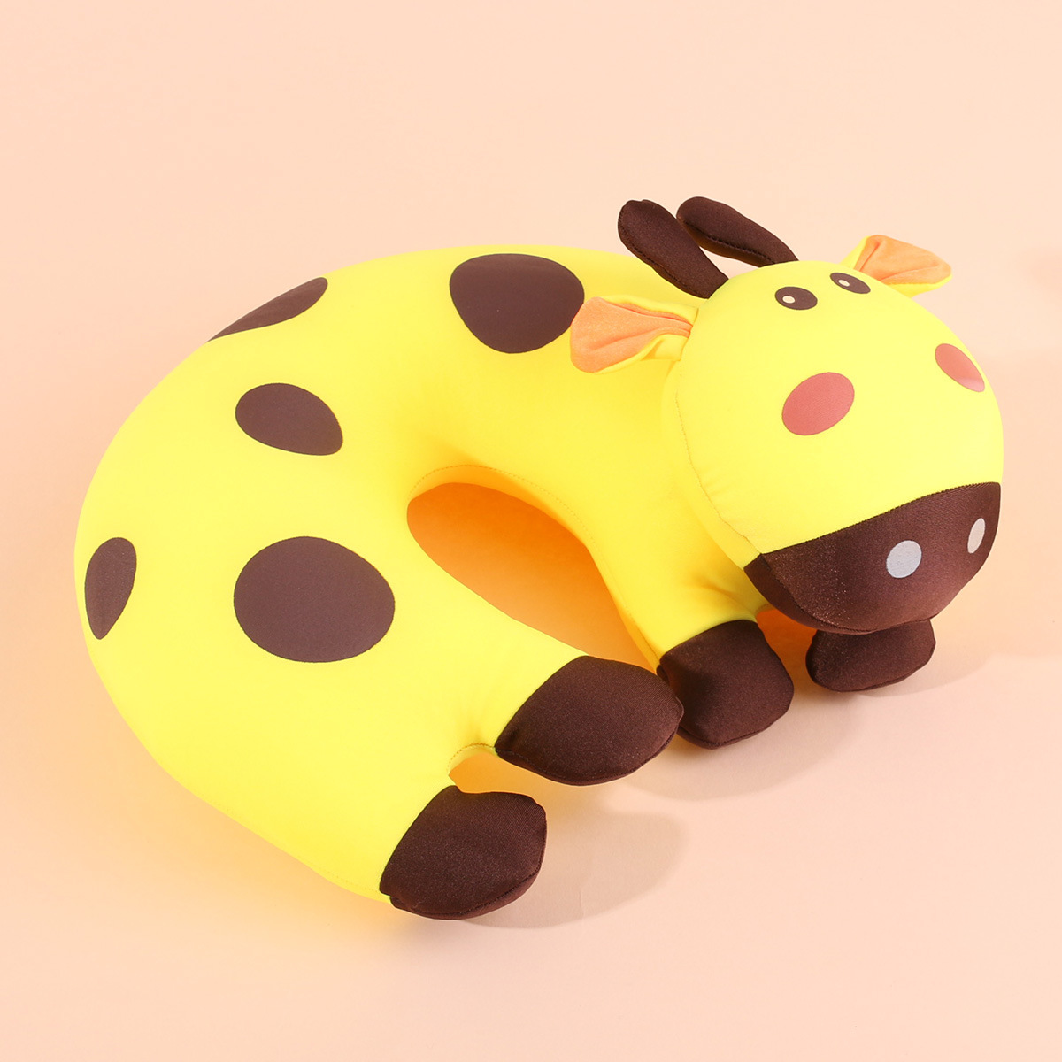 Horse shaped pillows for children - Baby Pillow Animal Cow U Shape Pillow For Babies Yellow Neck Protection Pillows China