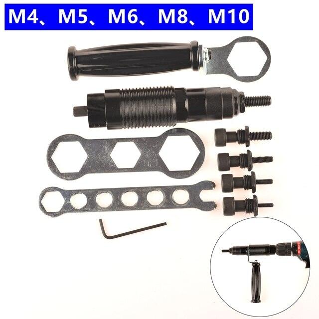 MXITA Elektrische Nietmutter Gun M4 M5 M6 M8 M10 Schnurlose Mutter ...