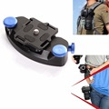 Strong Fast Loading Quick Release Waist Belt Buckle Mount Capture Camera Clip Holster Adapter For Canon Nikon Sony DSLR