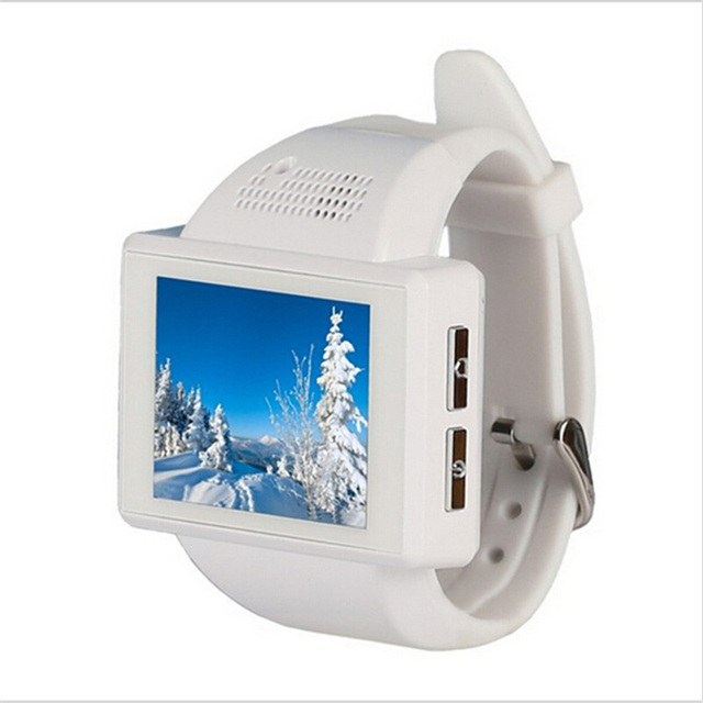 silver white Smartwatch android 5c649caf6f4ba