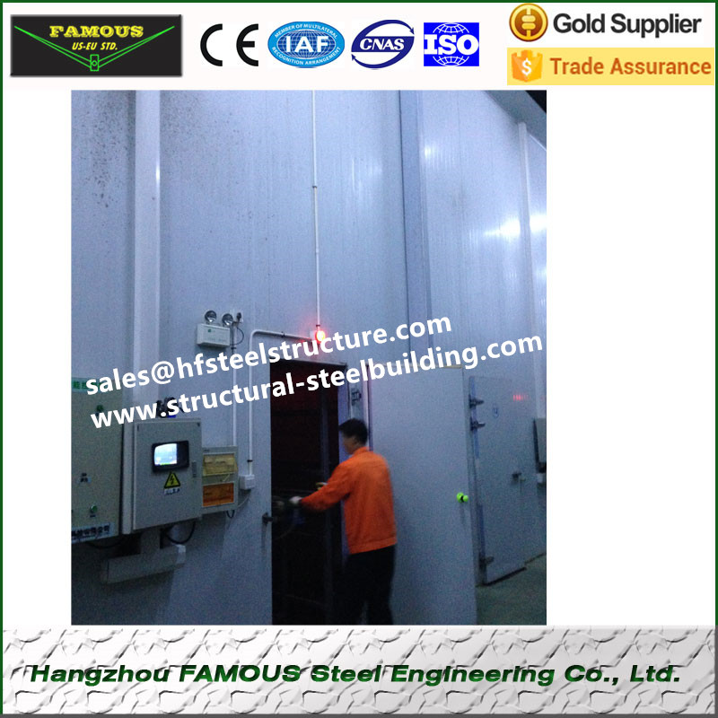 Walk In Chiller And Freezer Cold Rooms For Beverages And Milk China Cold Storage Design High Humidity Cold Rooms