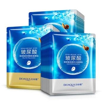 BIOAQUA Skin Care Women Hyaluronic Acid Face Masks Moisturizing Oil Control Natural Essence Collagen Whitening Mask Face Mask & Treatments