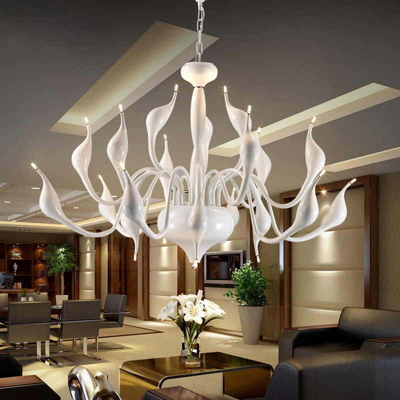 Swan Group LED Pendant Simple And Modern Creative Store