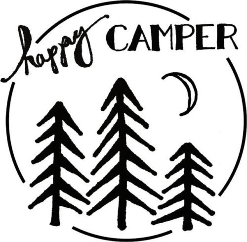 Car Styling For Happy Camper Vinyl Decal Truck Window Sticker In Stickers From Automobiles Motorcycles On Aliexpress