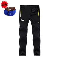 Big Size Summer Men Waterproof Fishing Clothing Spring Outdoor Sports Hiking Climbing Pants Breathable Quick dry Long Pant