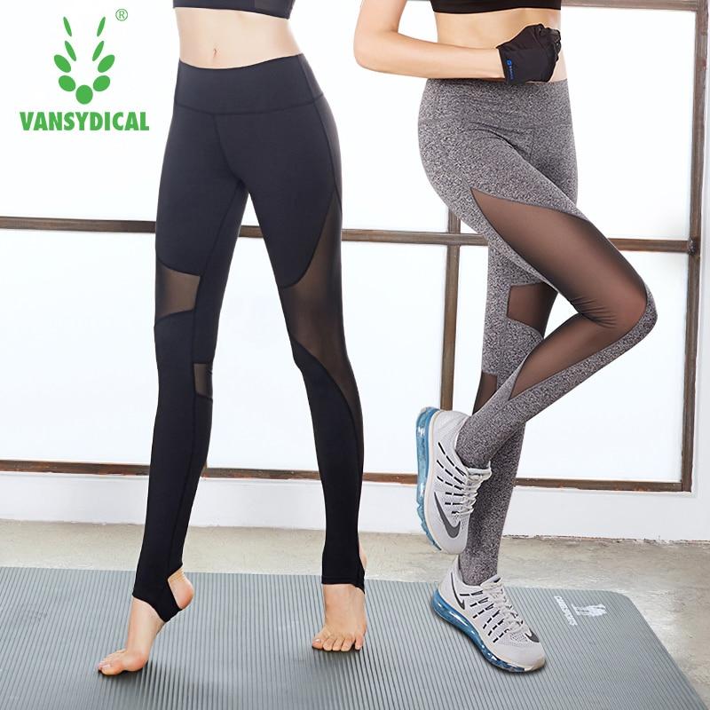 Prix pour Femmes sport Leggings De Yoga Pantalon Taille Haute Pied Serré Sport Pantalon Maille Respirant Leggings Pour Le yoga