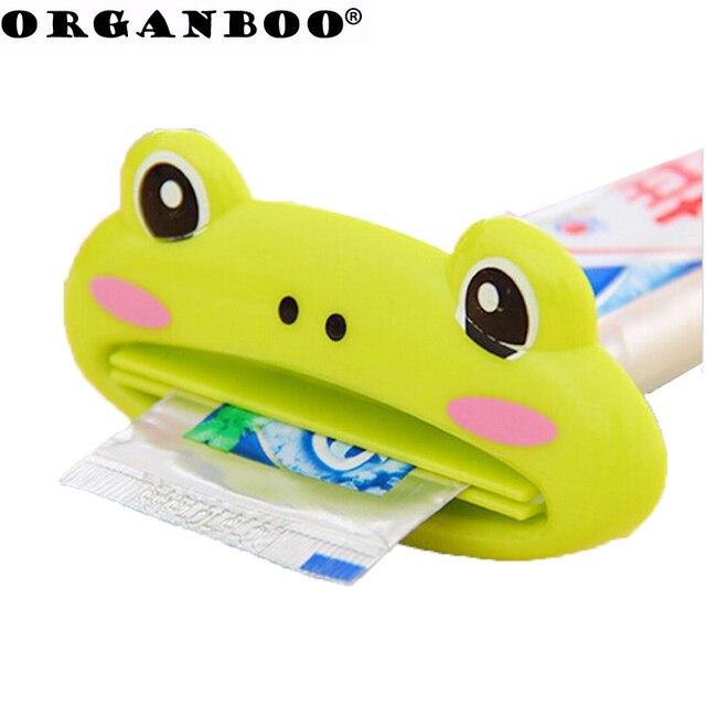 3 pz Cartone Animato Animale Dentifricio Spremiagrumi Distributeur Dentifricio B