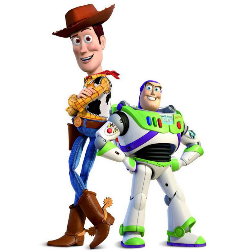 Toy Story 3 Action Figure toy 18cm Woody and Buzz lightyear PVC Model Toys Children Gift Collectible Doll Party decoration toy story juniors costume tunic tank dress buzz lightyear costume fancy dress toy story jessie costume buzz lightyear costume