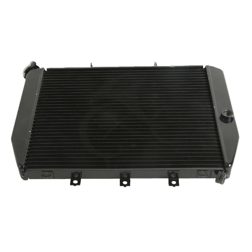 цена на Radiator Cooler For KAWASAKI Ninja ZX12 ZX-12R ZX1200 2002-2005 03 04 Black