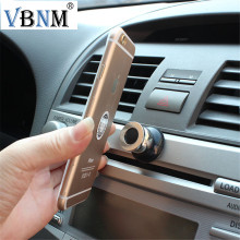 VBNM 360 Car Holder Mini Air Vent Mount Magnet Magnetic Cell Phone Mobile Holder Universal For iPhone 7 6 5 GPS Car Holder