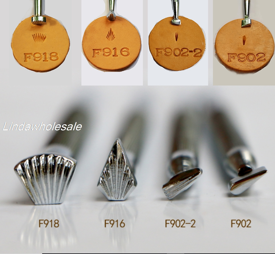 Leather Carving Engraving Tools  F902/F902-2/F916/F918,metal Tools,leather Stamps