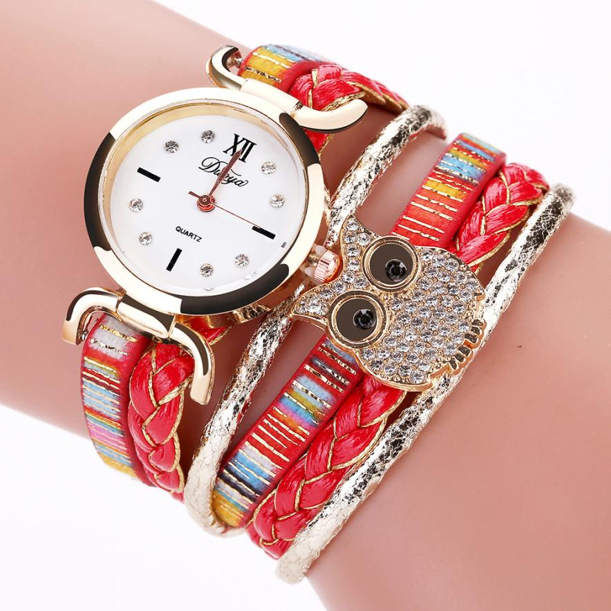 Women Bracelet Watches quartz-watch simple casual air fashion trend retro bracelet watch lady quartz watch Special Pattern