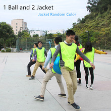 1 Ball 2 Jacket Outdoor Games Sport Toys Company Team Game W