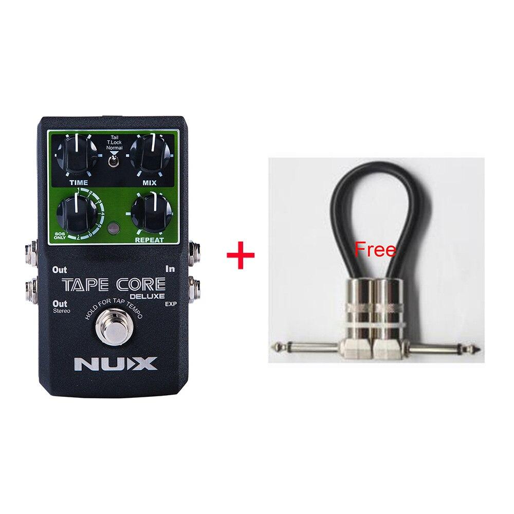 NUX Bande Core Deluxe Echo Guitare Pédale D'effet Utiliser Pour guitare Basse-Lightwish Pédale Avec True Bypass + Livraison câble