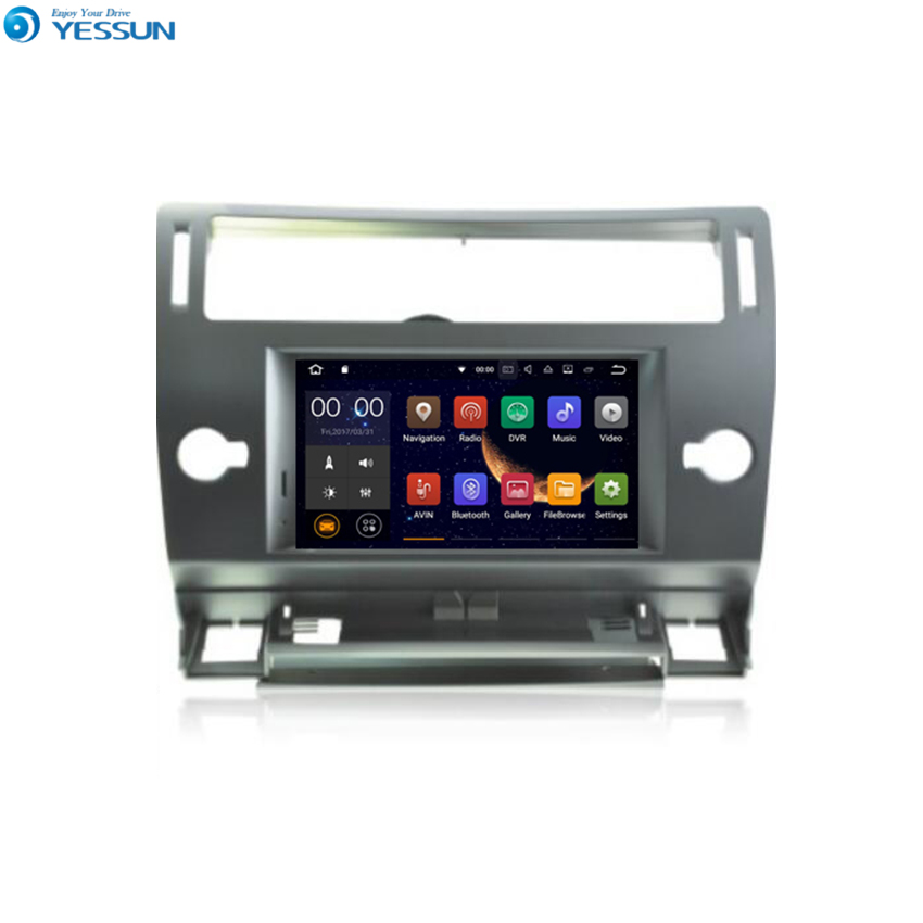 YESSUN For Peugeo For CITROEN C4 2004~2012 Android Car GPS Navigation DVD player Multimedia Audio Video Radio Multi Touch Screen