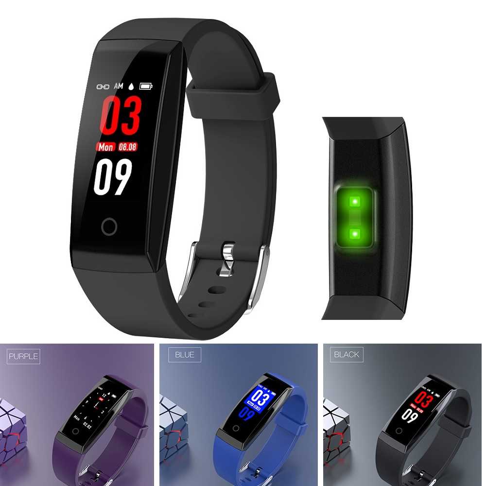 Wlngwear W8 Smart Wristband Bracelet Heart Rate / Sleep Monitor Sedentary Reminder Find Phone Remote Camera Bluetooth Smart Band