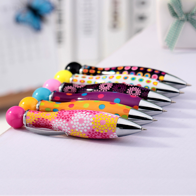 Creative And Colorful Ball Point Pen Fun Bowling Ball Pen