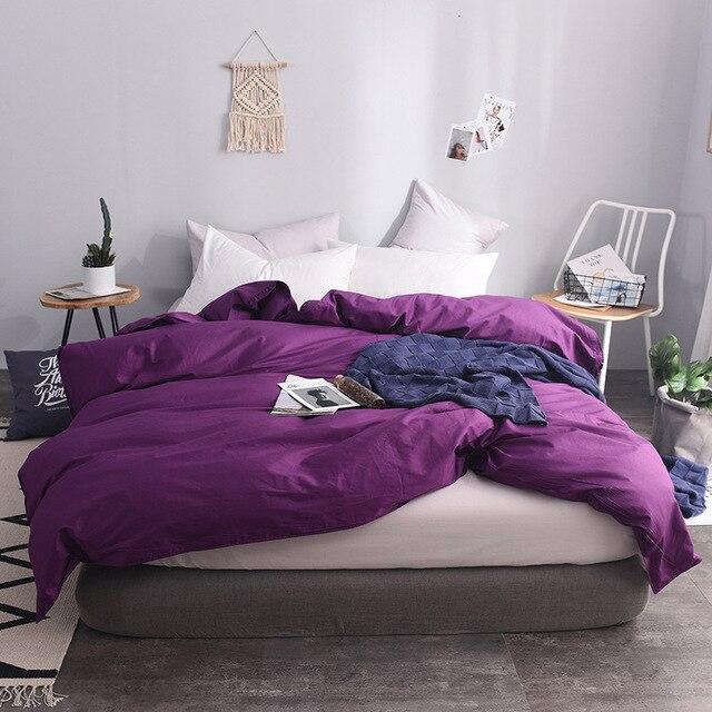 100/% Polyester Damassé Housse Couette Simple Double King Super King Size Quilt Set