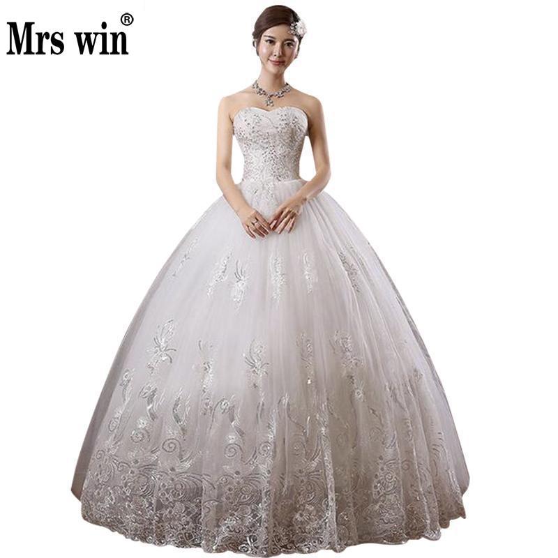 Свадебные платья новая мода принцесса стиль роскошная кружевная вышивка длина до пола алмаз винтажное свадебное платье